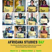 Africana Studies Day is March 1,2018