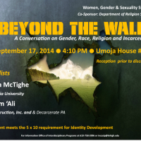 """Beyond the Walls: A Conversation on Gender, Race, Religion and Incarceration"""