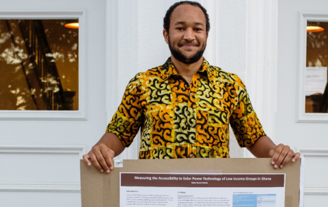 """To increase students' participation in international programs –specifically the """"Sites of Memory"""" program in Ghana, Ronald J. Ulrich '67 donated funds to expand Africana Studies' global summer initiatives in Ghana for underrepresented students."""